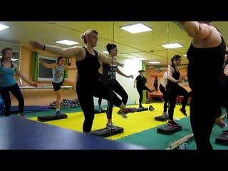 """Функциональная тренировка со степом. Фитнес-зал """"IFIT"""" ГРЭС"""