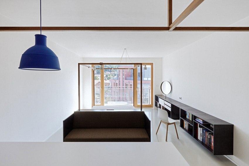 Минималистичная квартира в Праге