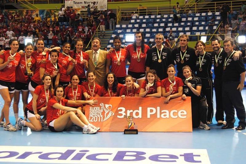Сборная Испании — бронзовый призер чемпионата мира в Бразилии (2011 г.)