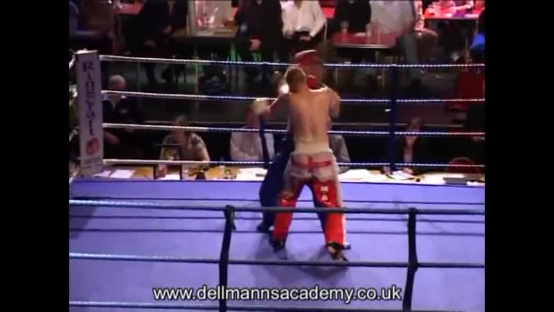Fagan England vs Jozsef Hungary WKF EFK World Middleweight Title Full contact.