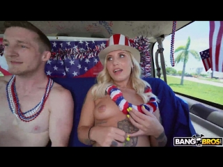 Stella Raee – 4th of July Celebration on The Bus [BangBros. HD 1080. Blonde, Tattooed]