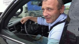 Погрузка Lada Niva Luxe в закрытый автовоз.