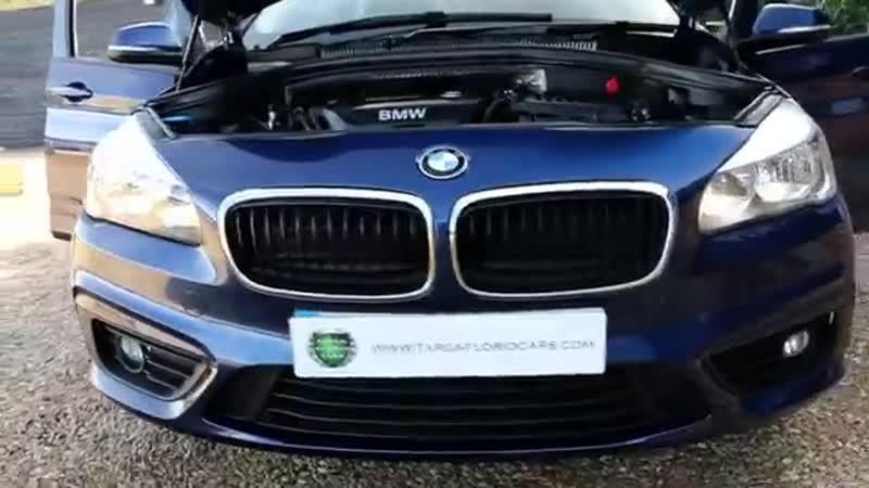 BMW 1 5 216d SE Gran Tourer Manual in Mediterranean Blue