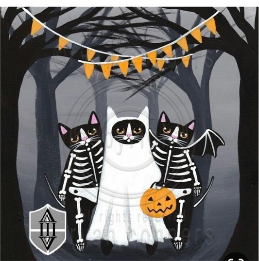 Афиша Halloween в кругу семьи