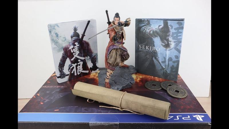 Sekiro Shadows Die Twice Collector's Edition PS4 UK Обзор