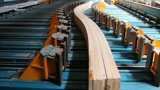 Невероятная современная автоматическая фабрика по переработке древесины. Удивительные современные деревообрабатывающие станки (канал Machinery Magazine)