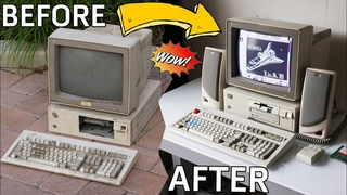 Abandoned IBM Computer Restoration! (1992 IBM 35SX)