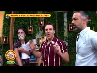 Mexican tv show try to debunk the magnet challenge but watch what happens!!