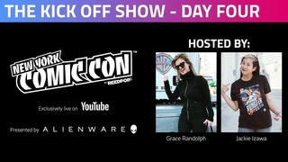 Mortal Kombat co-creator Ed Boon joins our hosts for NYCC Day 4 Kickoff Show!
