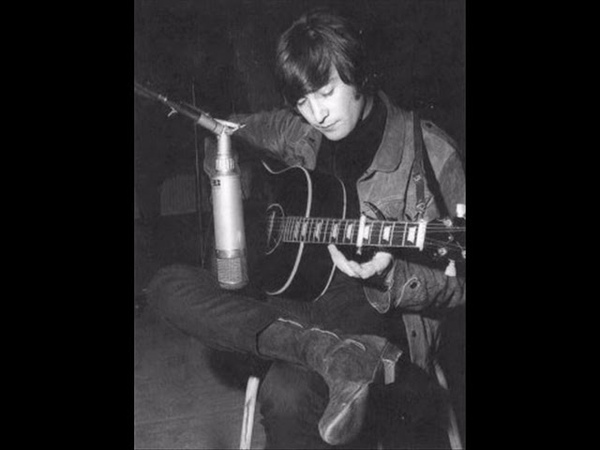 John Lennon Nobody Loves You when you're down and out acoustic version