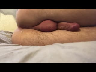 French guy cum average dick