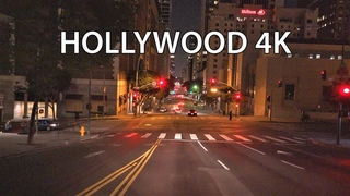 Hollywood 4K - Night Drive