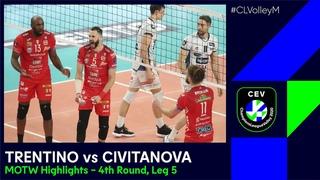 #CLVolleyM | TRENTINO Itas vs Cucine Lube CIVITANOVA - MOTW Highlights
