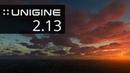 UNIGINE Engine 2.13 Release - GPU Lightmapper, Volumetric Clouds Upgrade, Better AA, Terrain Tools