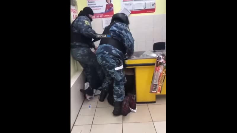 Замес в Харьковском супермаркете
