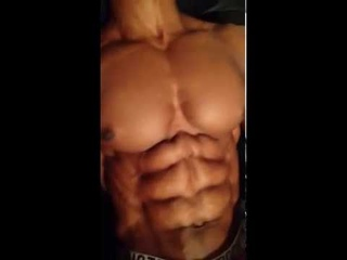 Max Philisaire shows off sexy 'Couch Potato' ab workout