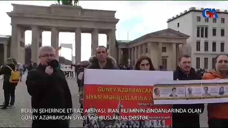 GünAz TV Güney Azerbaycan siyasi məhbusların mudafiyə komitəsi Almanyada