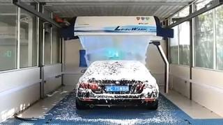 Современная автоматическая мойка автомобилей...
