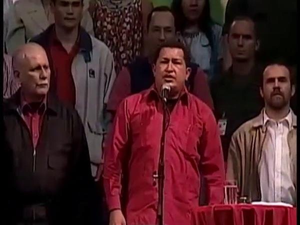 Chávez Invicto ¡Hemos retomado las banderas de Bolívar y de Ezequiel Zamora