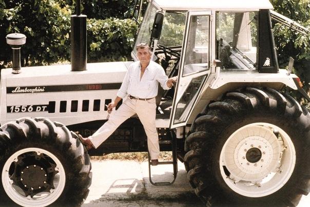 Ферруччо Ламборджини строил тракторы, прежде чем он построил автомобиль