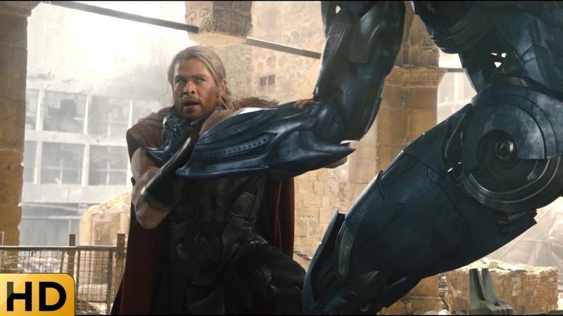Тор против Альтрона Мстители Эра Альтрона