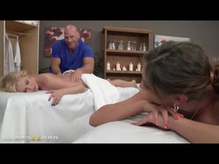 Pornomix / August Ames, Vanessa Cage -- Moms Bang Amateur Family Therapy Incest Threesome Milf Brother Sister Blowjob massage