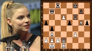 Netflix Best ever Series!    Elizabeth Harmon plays like Bobby Fischer!    The Queen's Gambit 2020