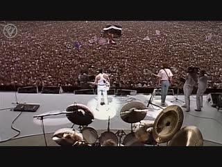 Реставрированная версия концерта queen live aid 1985 definitive restoration