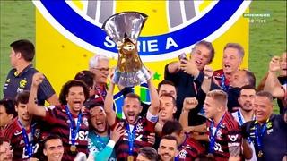 Flamengo 4 x 1 Ceará - BRUNO HENRIQUE FEZ 3   MENGÃO CAMPEÃO (HD)