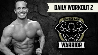 20 Minute Garage Gym AMRAP Workout -  Follow Along