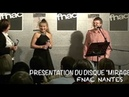 Présentation du disque Mirage /Alla Kawkabani Mikhail Krylov /Fnac Nantes