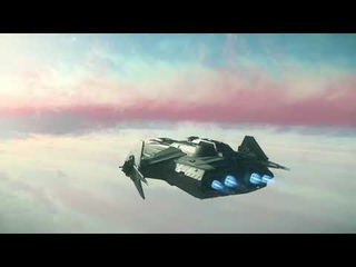 A fully modeled gas giant in a VIDEO GAME   Star Citizen -  PTU