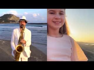 """Don't You Worry Child"" - Daniele Vitale & Karolina Protsenko | SAX & VIOLIN"