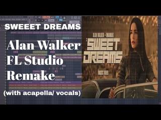 FLP(with acapella/vocals) | Alan Walker x Imanbek - Sweet Dreams | FL STUDIO REMAKE
