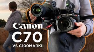 Canon C70 vs C100 Mark II: Dynamic range, color, & detail comparison