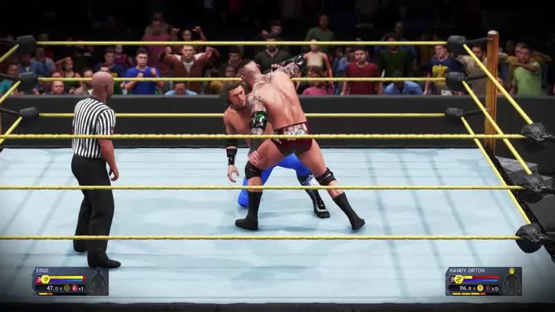 Randy Orton VS Edge Hardcore Championship Match UWF UNFORGIVEN House Show