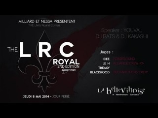 LRC ROYAL #2 - ALL STYLE DEMI-FINAL : Fabrice vs Cyborgg