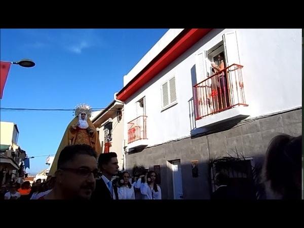 Procesion Viernes de Dolores 2019 Pollinica ALHAURIN de la TORRE 12 04