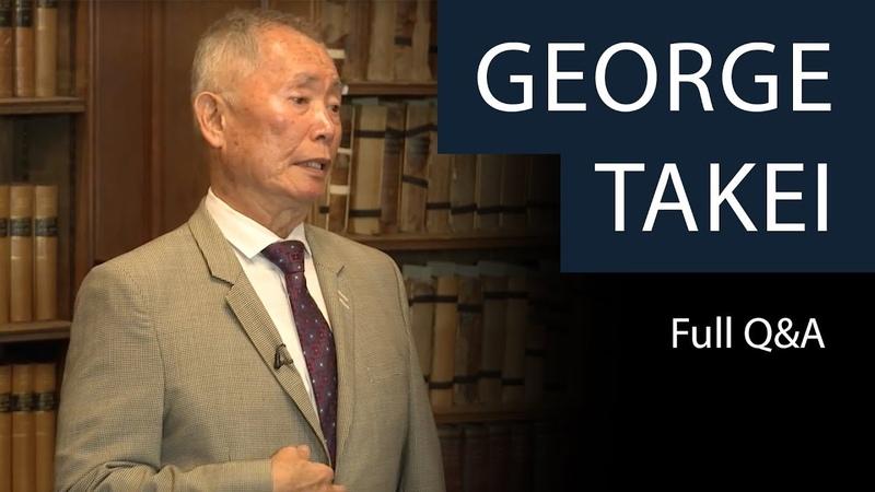 George Takei | Full QA | Oxford Union
