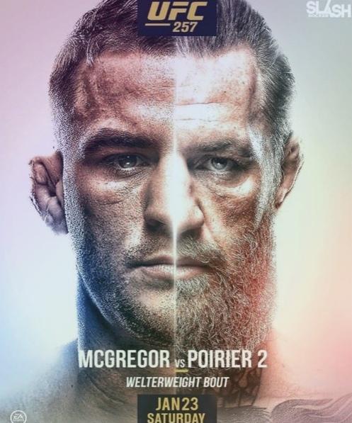 UFC 257: МАКГРЕГОР VS ПОРЬЕ