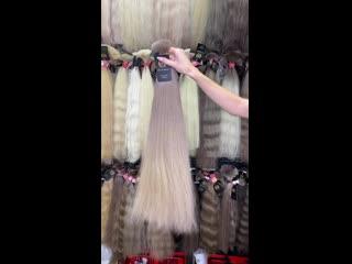 Шикарные волосы на Фабрике Русских Волос.