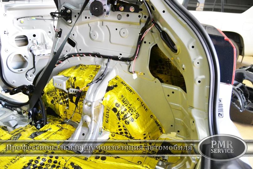 Комплексная шумоизоляция Mitsubishi ASX, изображение №13