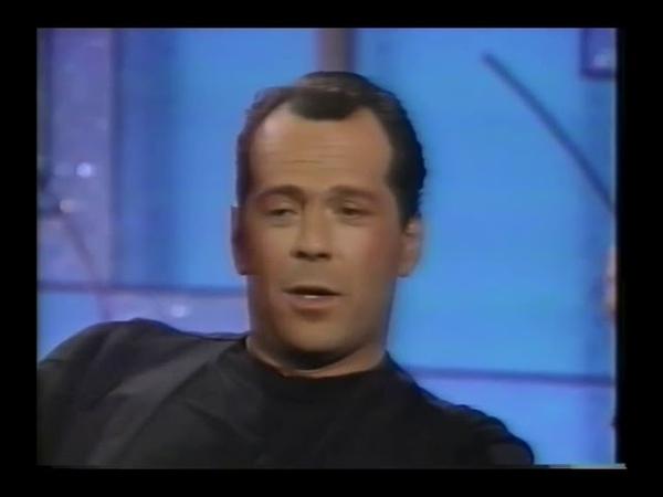 Bruce Willis on not liking Cybill Shepherd 1990 Interview
