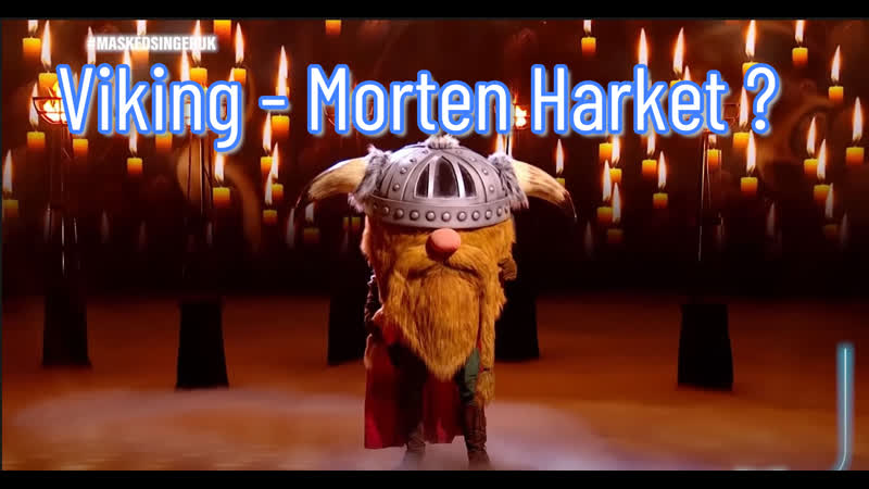 Morten Harket Viking The Masked Singer British series 2 2021