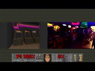 Real Life v.s. DOOM - National Videogame Museum