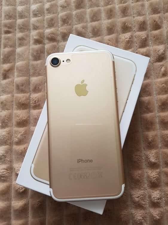 iPhone 7 золото в идеальном состоянии. | Объявления Орска и Новотроицка №9049