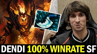 DENDI Blink Dagger Shadow Fiend — 100% Winrate 4 Games in a Row