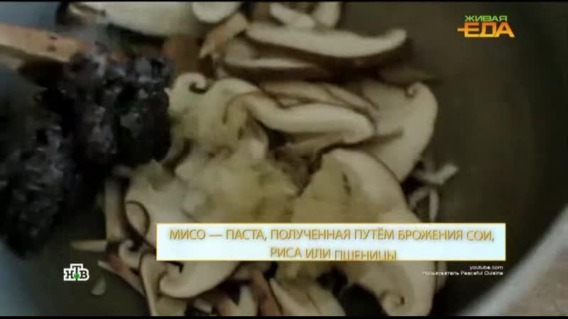 научно популярный проект Еда живая и мертвая 19 09 2020 Суши том ям мисо суп рамен быстрая азиатская еда в России