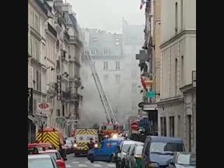 В центре Парижа прогремел мощный взрыв