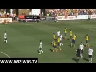 Boreham Wood vs Arsenal 0-2 ~ All Goals and Highlights ~ Friendly Match 2014